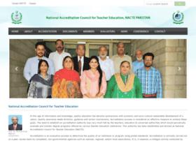 nacte.org.pk