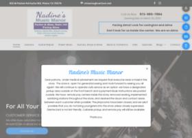 nadinesmusicmanor.com