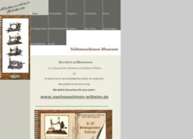 naehmaschinenmuseum.com