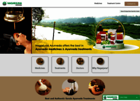 nagarjunaayurveda.com