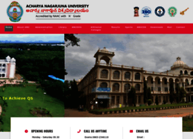 nagarjunauniversity.ac.in