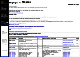 nagios.manubulon.com