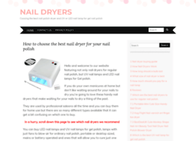 nail-dryer.co.uk