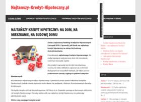 najtanszy-kredyt-hipoteczny.pl