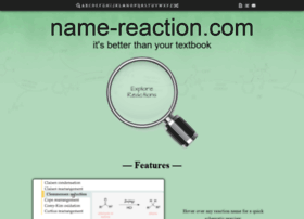 name-reaction.com