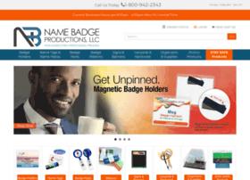 namebadgeproductions.com
