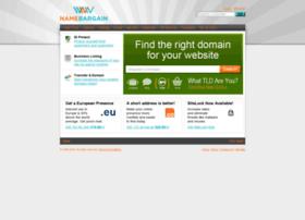 namebargain.com