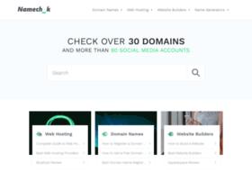 namechk.com