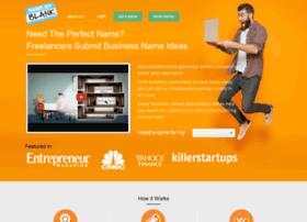 namemyblank.com