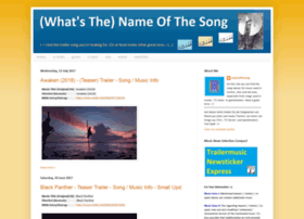 nameofthesong.blogspot.in