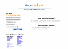 namesdatabase.com