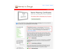 namesinframes.com
