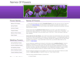 namesofflowers.net