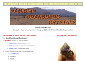 namibianbrandbergcrystals.com