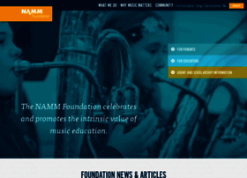 nammfoundation.org