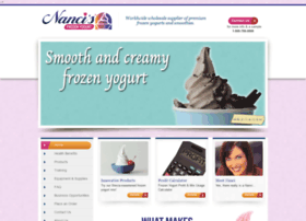 nancisfrozenyogurt.com