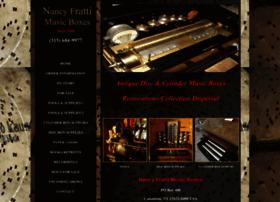 nancyfrattimusicboxes.com