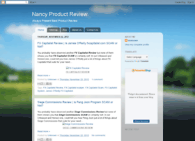nancyproductreview.blogspot.com