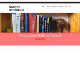 nandinidendukuri.com