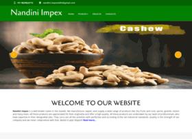 nandiniexim.com