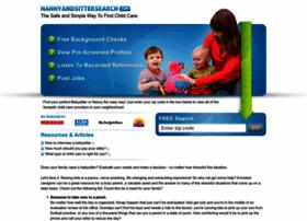 nannyandsittersearch.com