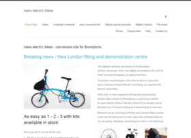 nanoelectricbikes.co.uk