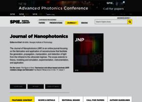 nanophotonics.spiedigitallibrary.org