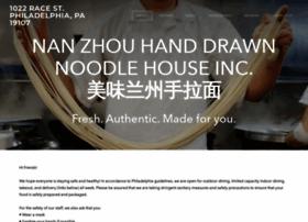 nanzhounoodlehouse.com