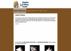 napkinfoldingguide.com