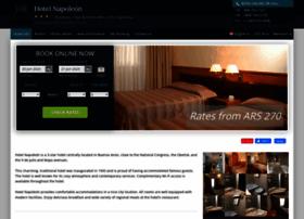 Napoleon-buenosaires.hotel-rez.com