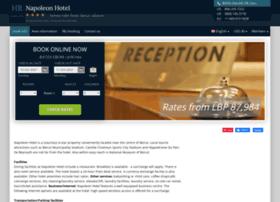 napoleon-hotel-beirut.h-rez.com