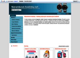 naramkove-hodinky.net