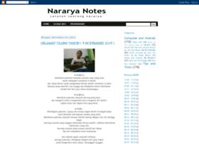 nararyanotes.blogspot.com