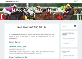 narrowing-the-field.com