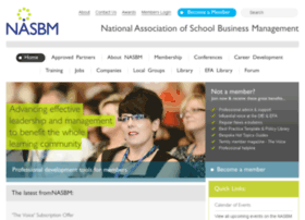 Nasbm.org.uk