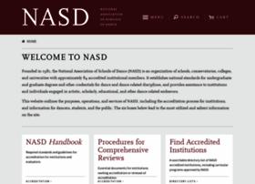 nasd.arts-accredit.org