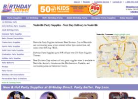 nashvillepartysupplies.birthdaydirect.com