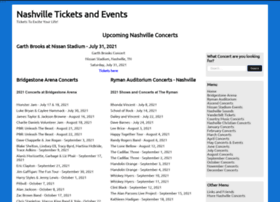 nashvilleticketsandevents.com