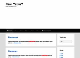 nasil.yazilir.com