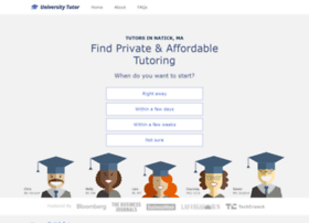 natick.universitytutor.com