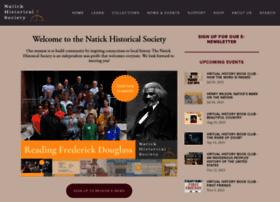 natickhistoricalsociety.org