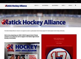 natickhockey.com