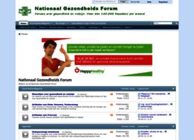 nationaalgezondheidsforum.nl