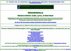 nationalanthems.us