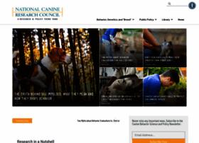 nationalcanineresearchcouncil.com