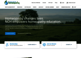 nationalcenterforhomeopathy.org