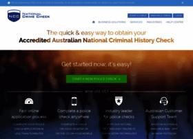 nationalcrimecheck.com.au