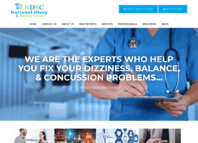 nationaldizzyandbalancecenter.com