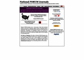 nationalforum.com