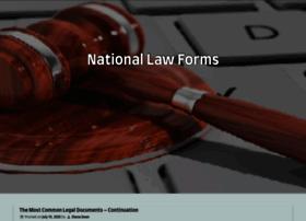 Nationallawforms.com